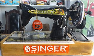 Singer Sewing Machine with fitted motor