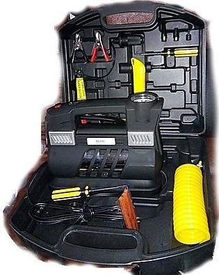 Car Air Compressor With Tool Kit & Suitcase