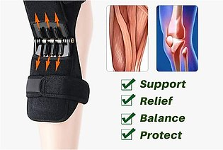 Power knee Joint Support Knee Pads Protect Nasus Sports Knee cap Resistance S...
