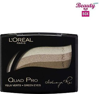 Loreal Color Appeal Quad Pro Eyeshadow - 319 Gold Green
