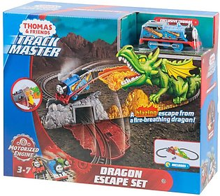 Fisher-Price Thomas & Friends TrackMaster Dragon Escape Set 2 AAA Battery Typ...