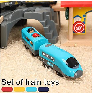 Electric Train Toy Set Kids Train Toy Children Train Toy Set Gift Compatible ...