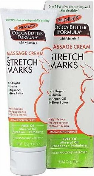 PALMER'S COCOABUTTER FORMULA MASSAGE CREAM STRETCHMARKS 125G And Pregnanccy Mar…