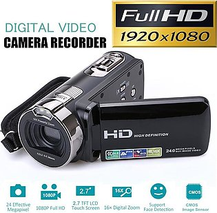"24M Full HD 1080P Digital Video Camera DV Camcorder Recorder With 2.7"" LCD Sc..."