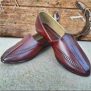 Men's Traditional High Quality Pumps, Arabic Khussa Style Footwear.