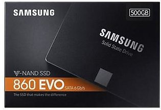 SAMSUNG SSD 860 EVO Plus Gamers Edition 500GB Internal Solid State Drive - 3GBPS