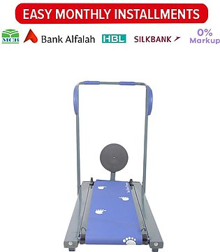 Manual Flat Treadmill With Twister Disk