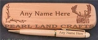 Engraving Wooden Name Pen With Box