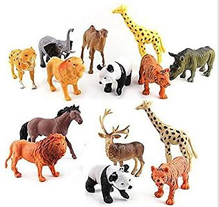 Pack of 50 Pcs -Wild Animal Jungle Toys