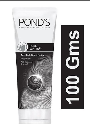 PONDS POLLUTION OUT + PURITY FACE WASH 100 GMS