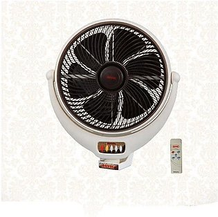 Royal Fans Louver Bracket Fan 14 inch with Remote Control
