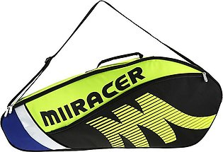 Badminton Racket Bag Tennis Racquet Bag Racket Storage Bag Holder for 3 Racquets