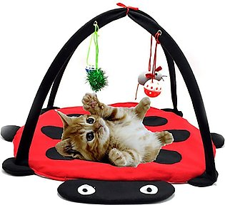 Pet Cat Bed Play Tent Toys Blanket House Furniture With Ball