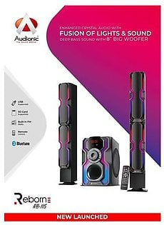 Audionic Reborn Series Reborn RB 115 Home Theater System With Bluetooth & Fusion Lights