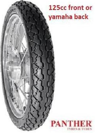 Panther tyre for 125cc Front 2.50-18 and yamaha Back