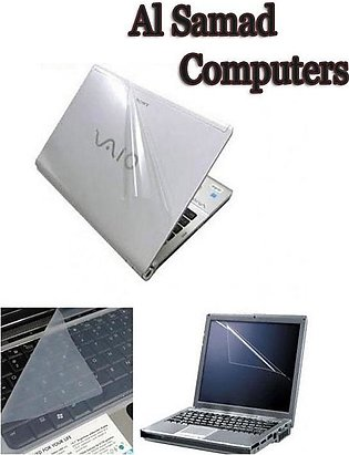 Laptop Skin 3 In 1 Package 15.6