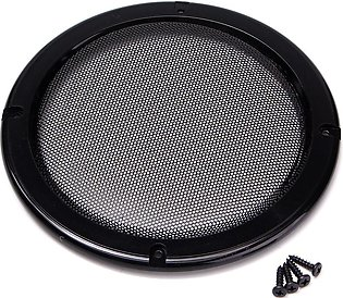 6.5 inch Protective Car Speaker Amplifier Cover Net Decorative Circle Metal Mesh