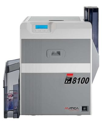 Xid 8100 Pvc Card Printer - Grey