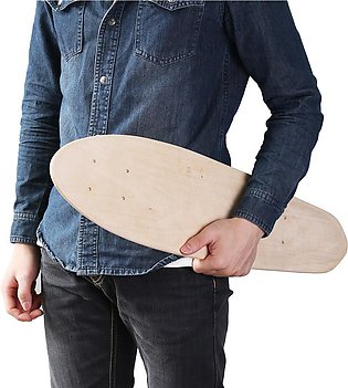 """The old tree  24"""" inch Fish Skateboard Natural Single Foot Wooden Maple Blank..."""