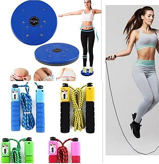 Bundle of 2 - Twister Disc & Skipping Rope