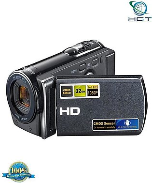 Hd 1080P 16Mp Cmos Camcorder Lcd Screen Digital Video Camera (F)