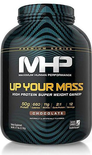MHP Up Your Mass 1200 - Weight Gainer - Chocolate flavour