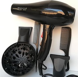 5 in 1 Professional Remngton Big Hair Dryer with 2 nozzles 2 combs and 1 diffus…