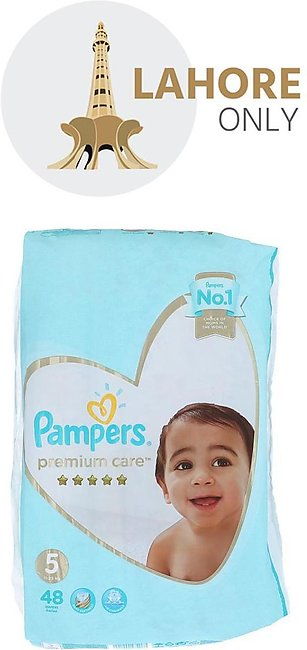 5 Pampers Premium Care 11-25 kg 48 Diapers