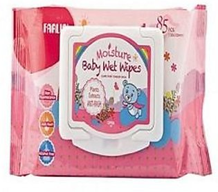 Farlin Moisture Baby Wipes With Cap 85 Pieces