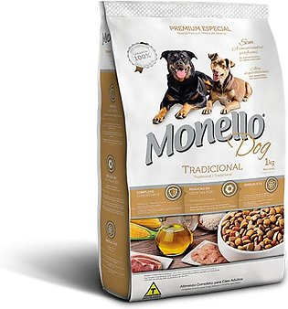 Monello Dog Dry Food  Traditional