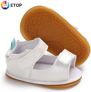 Rubber bottom baby shoe toddler shoes baby shoes Magic sticker Sandals baby sho…
