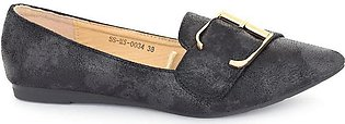 Hush Puppies - SS-MS-0034 - Black Closed Formal for Women