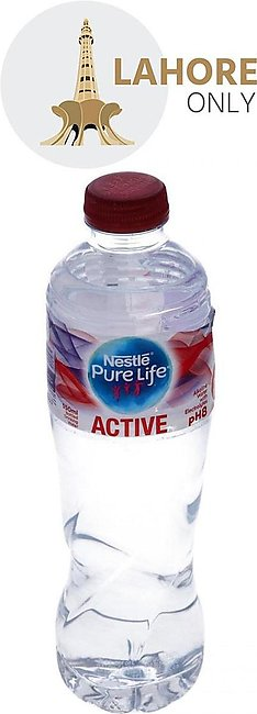 Nestle Pure Life Active Alkaline Water With Electrolytes pH 8 550ml