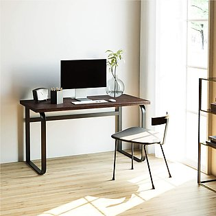 Writing Desk 55 , Industrial Office Computer Desk, Gaming Desk with Sturdy Me...