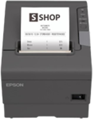 EPSON TM-T88V-191 RECEIPT THERMAL PRINTER USB + SERIAL WITH CUTTER