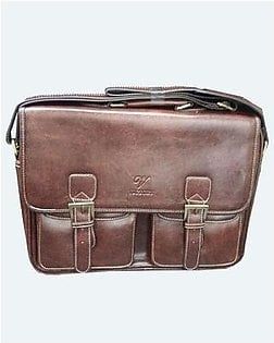 Original Leather 15 Inch Laptop Bag & Carrying Case