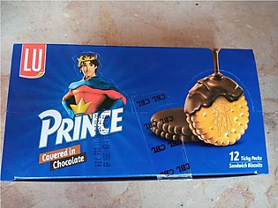 Prince Double Chocolate Biscuit -12pcs