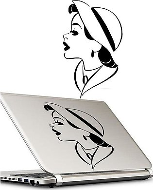 DECENT LADY Laptop Skin / Sticker, Removable