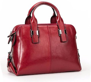 Leather Ladies Handbags Women Leather Bags Casual Fashion Classic Totes Messeng…