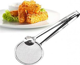 Multi-functional Filter Spoon With Clip Food Kitchen Oil-Frying