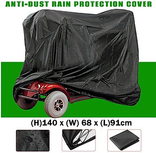 140cm Mobility Scooter Wheelchair Waterproof Storage Cover Rain Protection