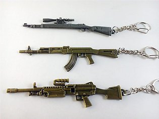 Pack of 3 PUBG Keychains