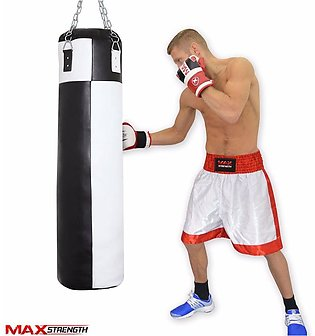 Punching bag with chain Filled Bag Easy to used home gym