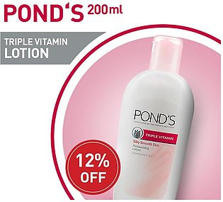 12% off on PONDS BODY LOTION 200ML