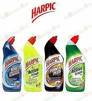 PACK OF 4 : HARPIC ACTIVE FRESH CITRUS ZEST LIME SCALE AND STAIN REMOVER 4 X ...