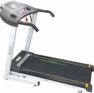 WINGS - W : 2 DOUBLE TRACK TREADMILL 2.75 HP (MANUAL INCLINE)