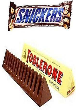 Pack Of 2 - Toblerone & Snickers