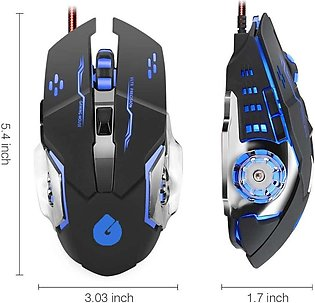 Multiple 7 Colours Gaming Mouse