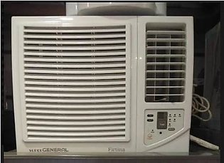 AC General Firtina 0.75 Ton New Window Air Conditioner with Remote Control - ...
