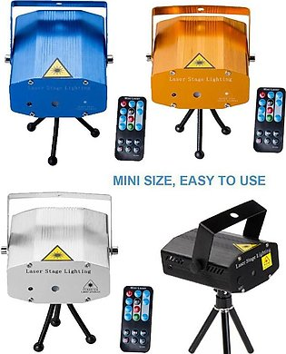LED Mini Stage Light Laser Projector